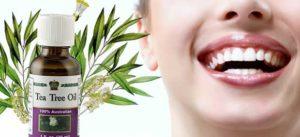 Как использовать масло чайного дерева для отбеливания зубов